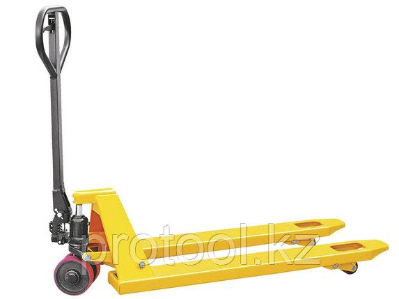 Тележка гидравлическая TOR г/п 2000 кг DB (полиуретановые колеса), фото 2