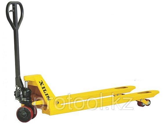 Тележка гидравлическая XILIN г/п 2500 кг DF-III (полиуретановые колеса), фото 2