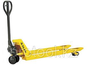 Тележка гидравлическая XILIN г/п 2500 кг DF-III (резиновые колеса), фото 2