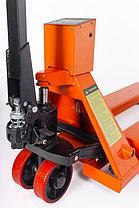 Тележка гидравлическая с весами TOR CBY.CW2. 2000 (полиуретановые колеса), фото 2