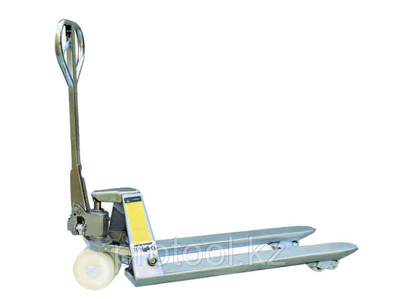 Тележка гидравлическая TOR BX 2,0 т 1500 мм нержавеющая сталь (нейлон.колеса)