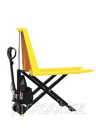 Тележка электрическая 1000 кг TOR EHLS1000N с ножничным подъемом (резин.колеса), фото 2