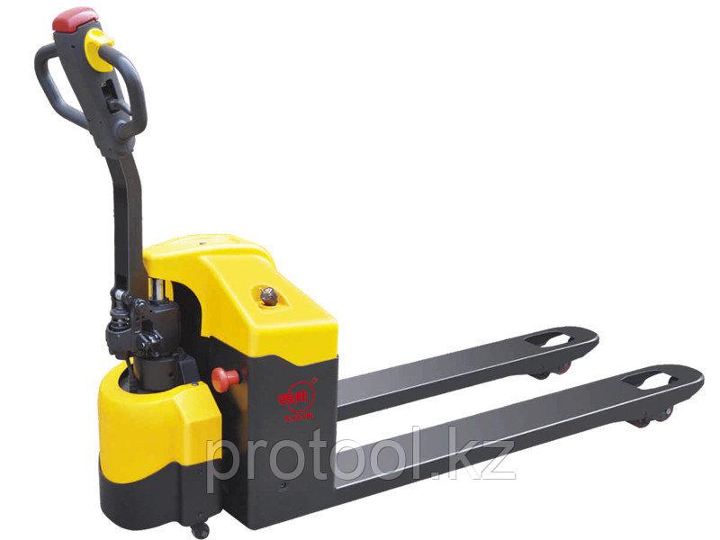 Тележка гидравлическая с электропередвижением XILIN г/п 1500 CBD15A-II