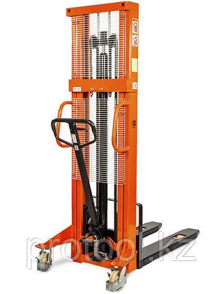 Штабелер ручной гидравлический TOR 1.0TX2.5M SDJ1025, фото 2
