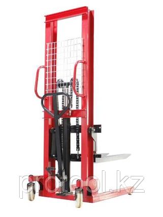 Штабелер ручной гидравлический TOR 1т 1,6м PMS1000-1600, фото 2