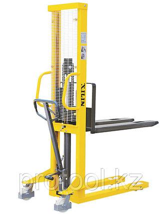 Штабелер ручной гидравлический XILIN 1.5т 1.6м SDJ1516, фото 2