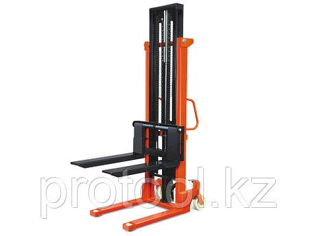 Штабелер ручной гидравлический TOR г/п 1500 кг 85-2000 мм CTY-E, фото 2