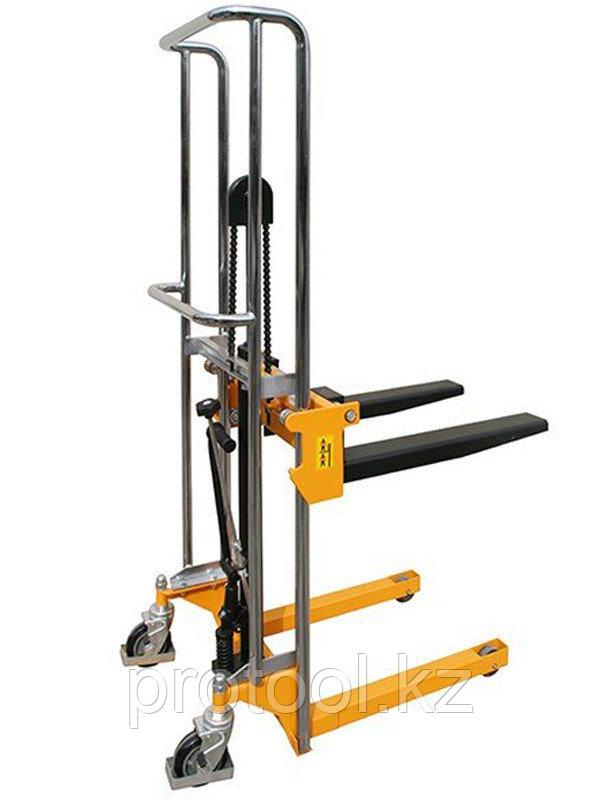 Штабелер ручной гидравлический TOR PJ4150, 400KGX1500MM, 580X650MM