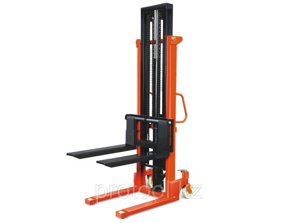 Штабелер ручной гидравлический TOR г/п 2000 кг 85-2000 мм CTY-E