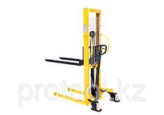 Штабелер ручной гидравлический с расширенными опорами TOR г/п 1 т 3,0 м WMSA1000-3000