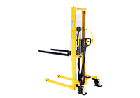 Штабелер ручной гидравлический с расширенными опорами TOR г/п 1,5 т 1,6 м WMSA1500-1600
