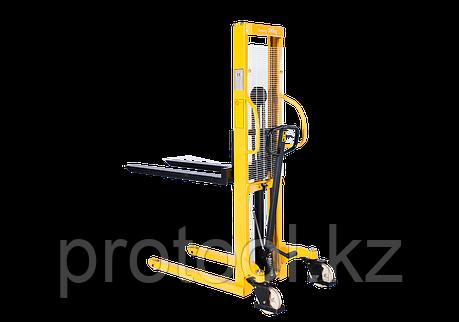 Штабелер ручной гидравлический с расширенными опорами TOR г/п 1,5 т 2,5 м WMSA1500-2500, фото 2