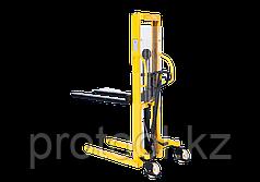 Штабелер ручной гидравлический с расширенными опорами TOR г/п 2,0 т 1,6 м WMSA2000-1600