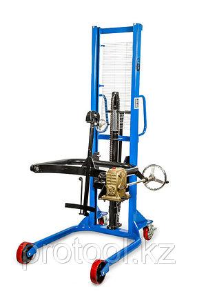 Штабелер-бочкокантователь ручной гидравлический TOR COT 0,35 т 1,4 м, фото 2