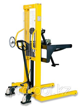 Штабелер-бочкокантователь ручной гидравлический TOR 500 кг 1600 мм WDS500-1600, фото 2