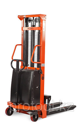 Штабелер гидравлический с электроподъемом TOR 10/16, 1 т 1,6 м (CTD), фото 2