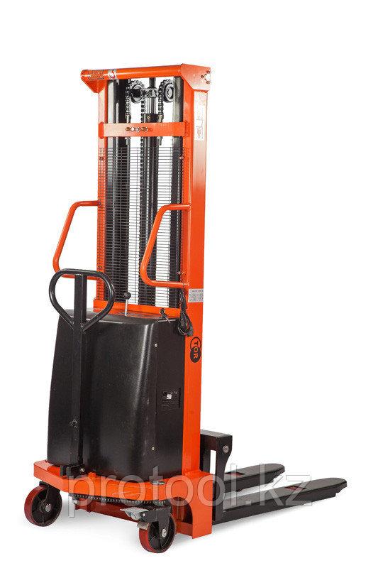 Штабелер гидравлический с электроподъемом TOR 10/20, 1 т 2,0 м (CTD)
