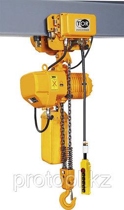 Таль электрическая цепная TOR ТЭЦП (HHBD7.5-03T) 7,5 т 6 м 380В, фото 2