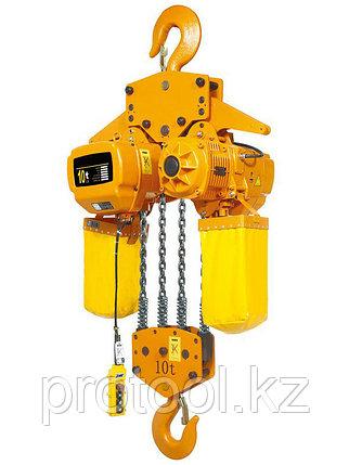 CТАЦ. Таль электрическая цепная TOR ТЭЦС (HHBD10-04) 10 т 24 м 380В, фото 2