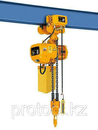 Таль электрическая цепная TOR ТЭЦП (HHBD03-03T) 3,0 т 12 м 380В двухскоростная, фото 2