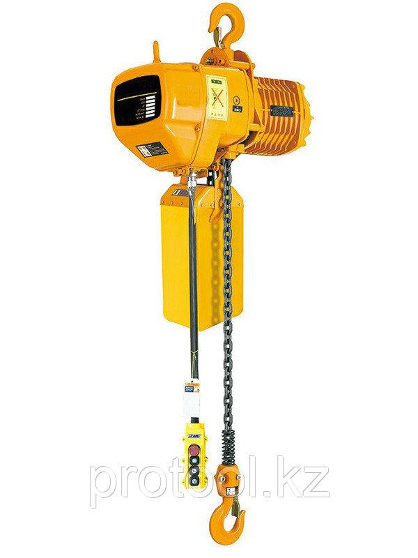 CТАЦ. Таль электрическая цепная TOR ТЭЦС (HHBD01-01) 1,0 т 12 м 220В