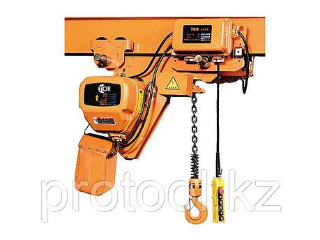 Таль электрическая цепная TOR HHBBSL075-03, 7,5 т 6 м, 380 В УСВ, фото 2