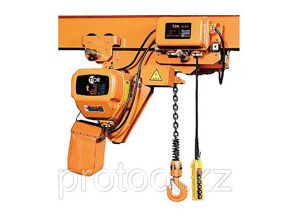 Таль электрическая цепная TOR HHBBSL05-02,5т 12 м УСВ, фото 2