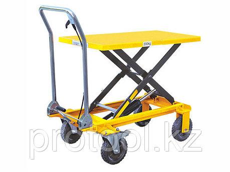 Стол подъемный TOR SP200 г/п 200 кг, подъем - 330-1000 мм, фото 2