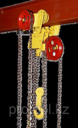 Таль ручная червячная передвижная TOR ТРЧП 3,2 т 3 м, фото 2