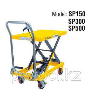 Стол подъемный передвижной XILIN г/п 300 кг 280-900 мм SP300, фото 2