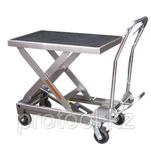 Стол подъемный TOR г/п 300 кг 830x500мм BS30S (нержавеющая сталь), фото 2