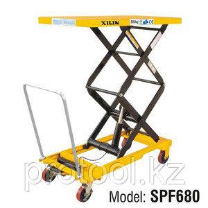 Стол подъемный передвижной XILIN г/п 680 кг 474-1500 мм SPF680, фото 2