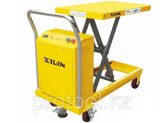 Стол подъемный передвижной XILIN г/п 300 кг 300-900 мм DP30 электрический, фото 2
