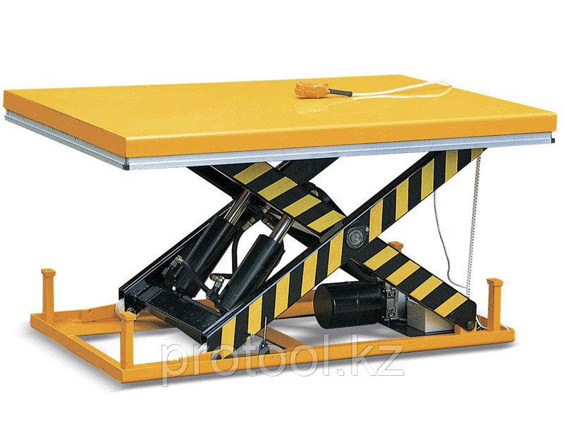 Стол подъемный стационарный TOR HW1002 г/п 1000кг, подъем 205-990мм