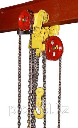 Таль ручная червячная передвижная TOR ТРЧП 3,2 т 9 м ПБИ, фото 2