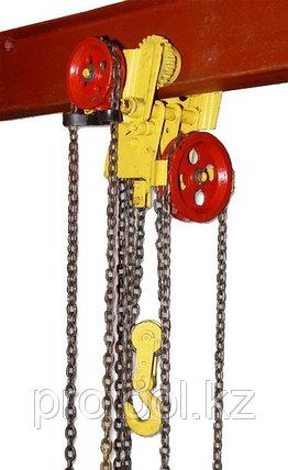 Таль ручная червячная передвижная TOR ТРЧП 10,0 т 3 м ПБИ, фото 2