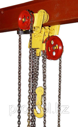 Таль ручная червячная передвижная TOR ТРЧП 10,0 т ПБИ, фото 2