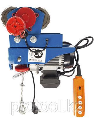 С ТЕЛЕЖКОЙ электрическая таль TOR PA-500/1000 20/10M (N), фото 2
