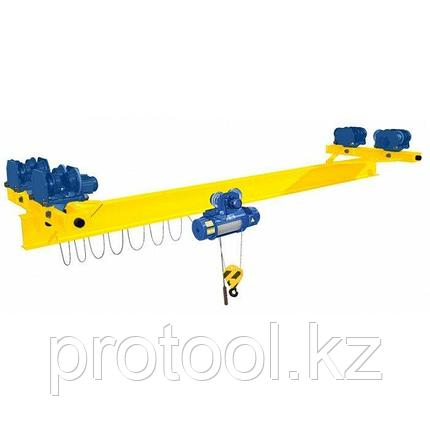 Кран мостовой однобалочный подвесной однопролётный г/п 2 т пролет 9,0 м, фото 2