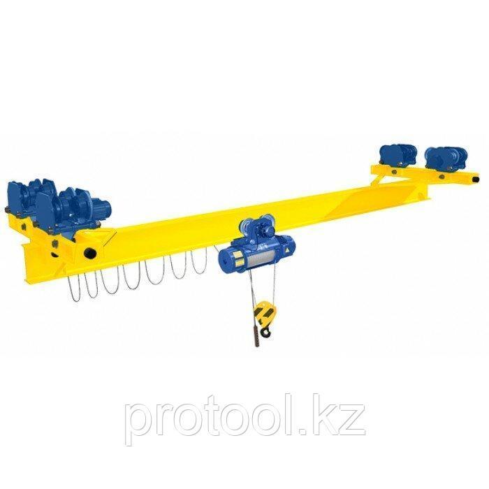 Кран мостовой однобалочный подвесной однопролётный г/п 5 т пролет 15,0 м