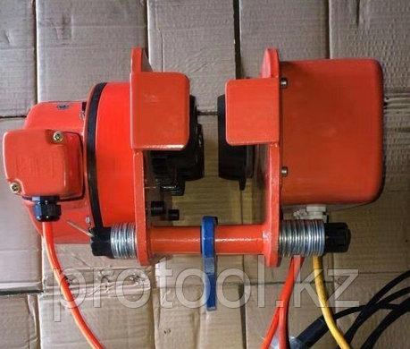 Тележка электрическая для талей электрических DHP 2 т, фото 2