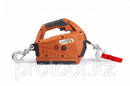 Лебедка электрическая переносная TOR SQ-05 450 кг 4,6 м с аккумулятором 24 В, фото 2