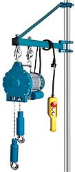 Таль электрическая подвесная TOR BLDN-YT-HPE 90 20м