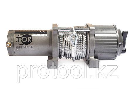 Лебедка (1588 кг/15 м) автомобильная TOR 12 V P3500-1D, фото 2