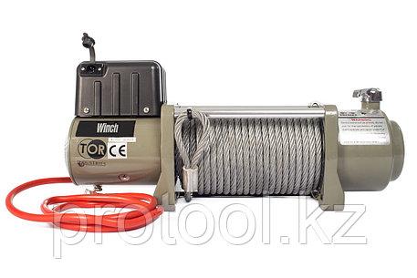 Лебедка (6804 кг/28 м) автомобильная TOR 12 V SEC15000, фото 2