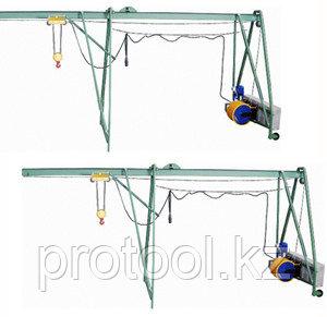 """Подъемник строительный """"УМЕЛЕЦ М"""" 320 кг 75 м с грузом, фото 2"""