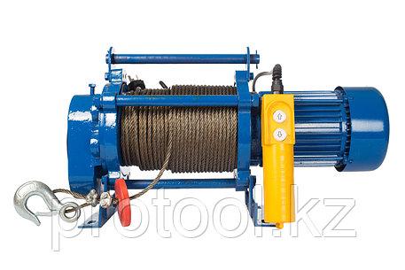 Лебедка TOR ЛЭК-300 E21 (KCD) 300 кг, 220 В с канатом 70 м, фото 2