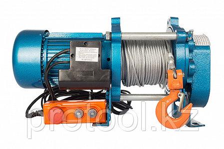 Лебедка TOR ЛЭК-500 E21 (KCD) 500 кг, 220 В с канатом 100 м, фото 2