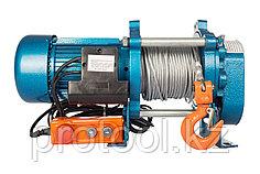 Лебедка TOR ЛЭК-1000 E21 (KCD) 1000 кг, 380 В с канатом 70 м