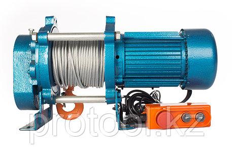 Лебедка TOR ЛЭК-500 E21 (KCD) 500 кг, 380 В с канатом 30 м, фото 2